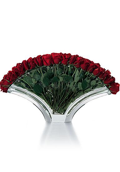 "Baccarat Gingko Grand Vase 22 1/2"" L"