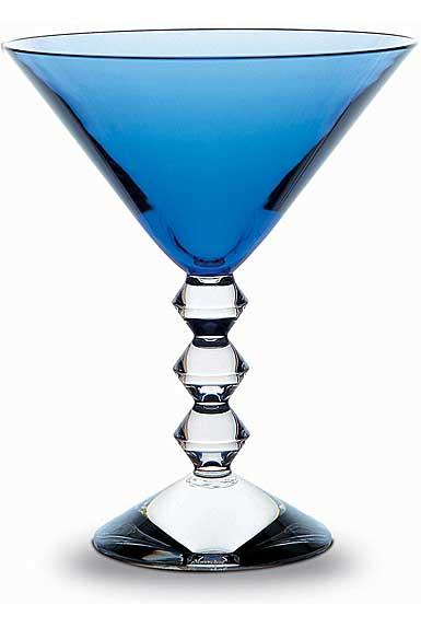 Baccarat Vega Martini, Sapphire, Single