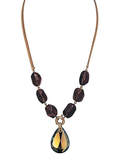 Baccarat Psydelic Necklace Blue Scarabee With Amethyst Stones Medium