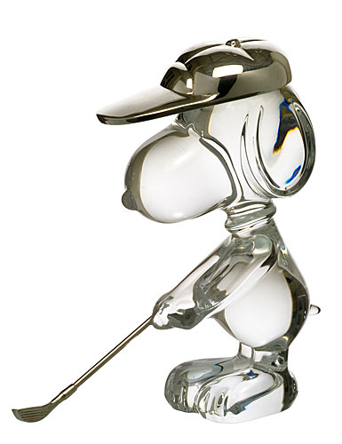 Baccarat Snoopy Golfing
