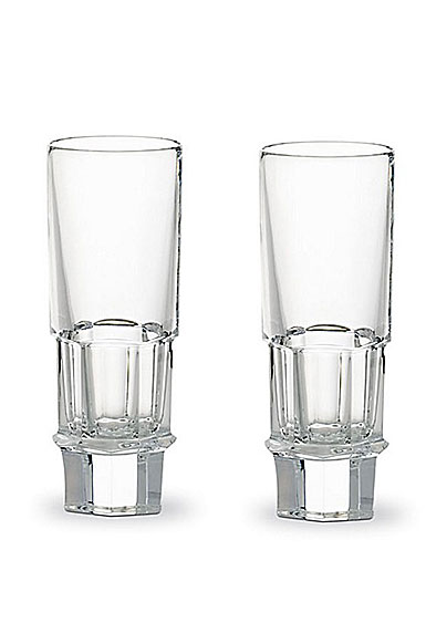 Baccarat Abysse Vodka Glasses, Boxed Pair