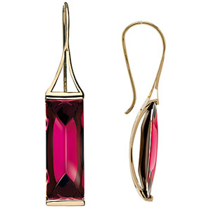 Baccarat Somnight Earrings, 18Kt Gold , Pink Mordore
