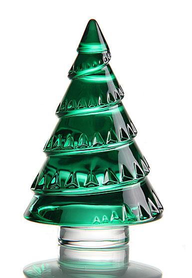 Baccarat Chamonix Green Fir Tree