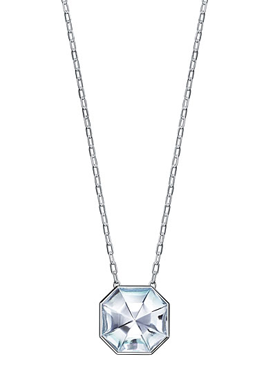 Baccarat LIllustre Medium Pendant Necklace, Mirrored Clear Crystal