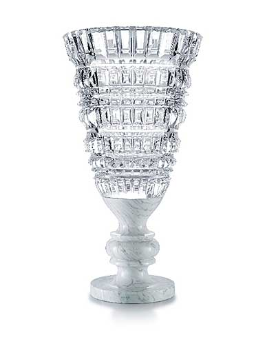 Baccarat New Antique White Vase, Limited Edition
