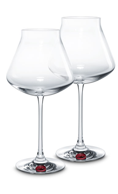 Baccarat Chateau Baccarat XL Wine Glasses, Red Seal, Pair