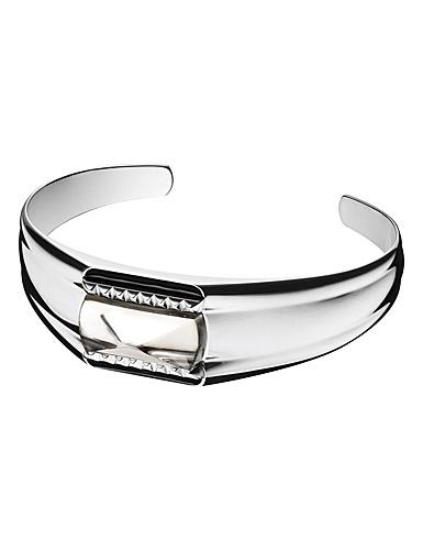 Baccarat Louxor Large Bracelet, Silver and Mist Mirror