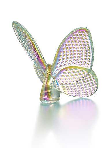 Baccarat Lucky Butterfly, Diamante Diamond Iridescent
