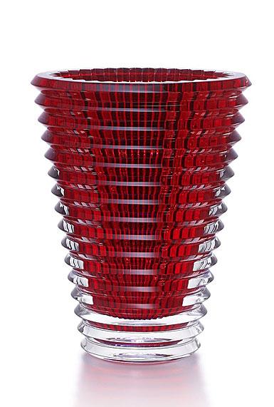 Baccarat Eye Extra Large Vase, Red
