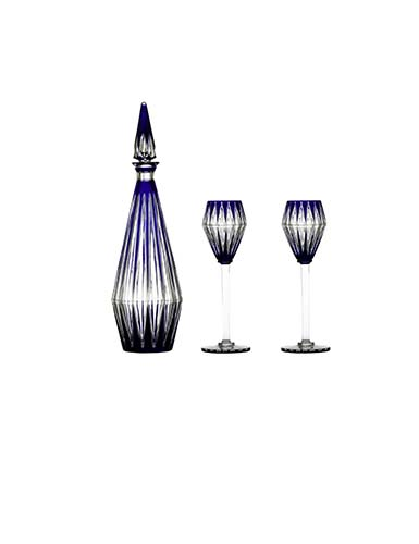 Baccarat Blue Memoire Chevalier Service Set, Limited Edition of 100, Special Order
