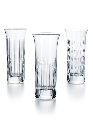 Baccarat Flora Bud Vases, Set of 3