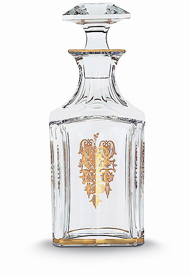 Baccarat Harcourt Empire Square Whiskey Decanter