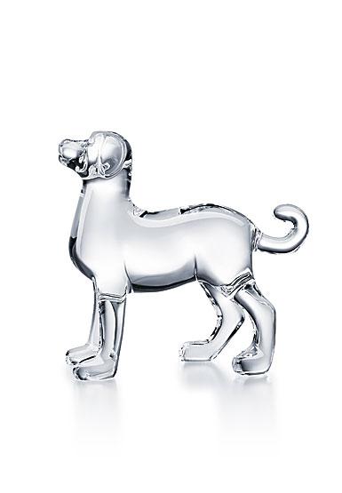 Baccarat Zodiac Dog, Clear