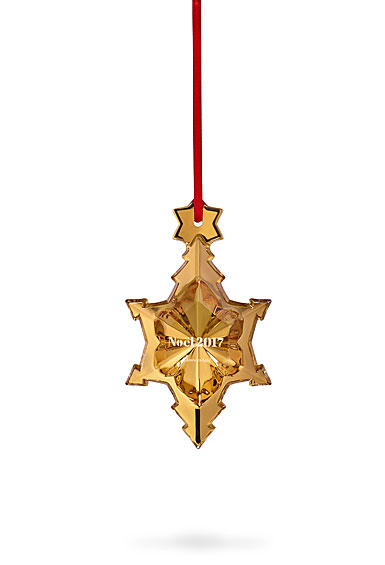 Baccarat 2017 Annual Ornament, 20K Gold