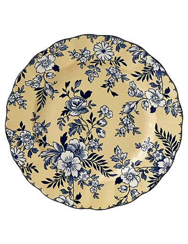 Johnson Brothers China Devon Cottage Accent Plate Yellow