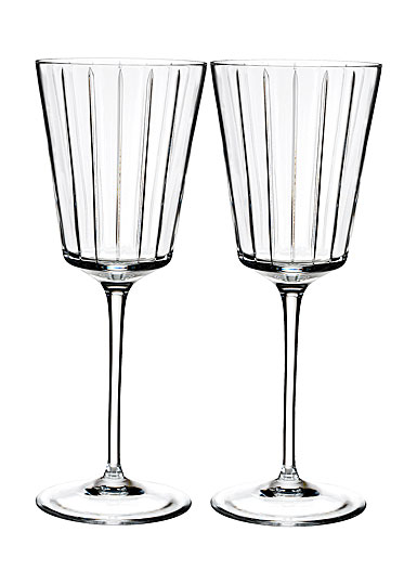 Rogaska Avenue All Purpose Wine Pair Crystal Classics