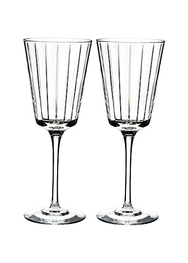 Rogaska Avenue White Wine, Pair