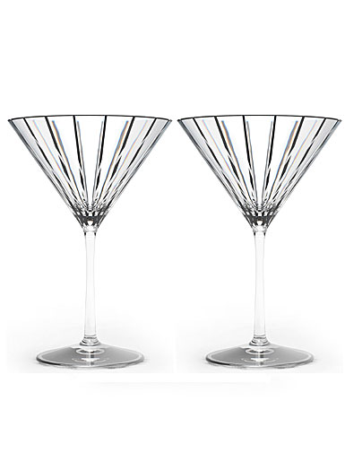 Rogaska Avenue Martini, Pair