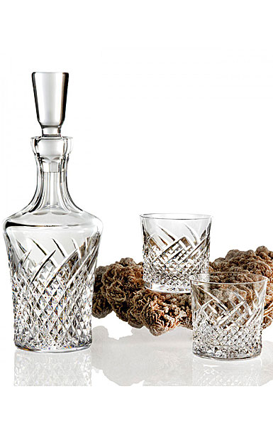 Waterford House of Waterford Wild Atlantic Way Decanter and 2 Rock Glasses