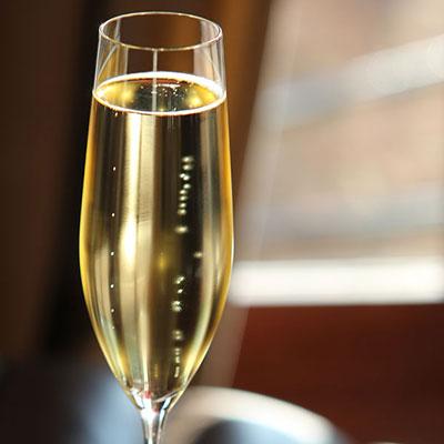 Cashs Crystal Grand Cru Vintage Champagne Flutes, Pair