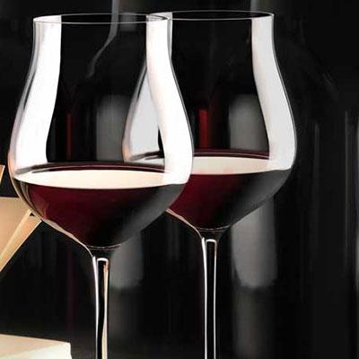 Cashs Crystal Grand Cru Pinot Noir Glasses, Pair