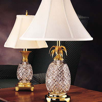 """Waterford Hospitality Pineapple 25"""" Lamp"""