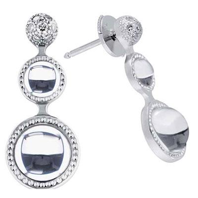 Lalique Petillante Earrings, Clear