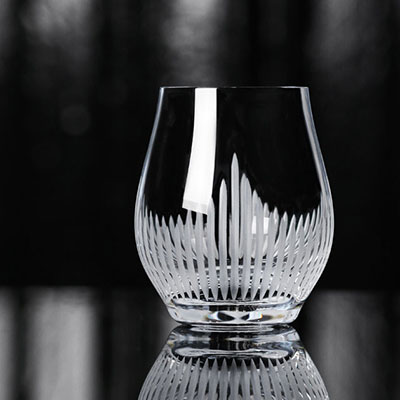 Lalique 100 Points Whiskey Tumbler Glasses By James Suckling, Pair