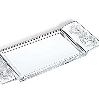 Lalique Naiades Tray, Clear