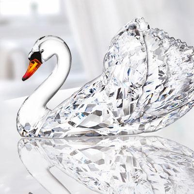Swarovski Paradise Swan