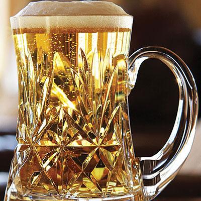 Cashs Crystal Annestown Original Beer Tankard