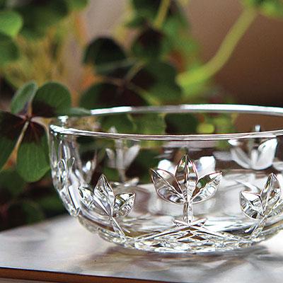 Cashs Crystal Hawthorne Fairy Candy Bowl
