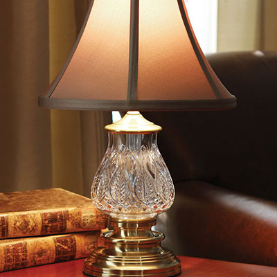 """Waterford Blue Bell Mini 16"""" Accent Lamp"""