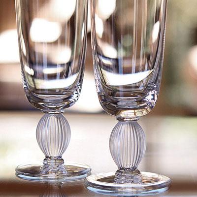 Lalique Langeais Champagne Flute, Single