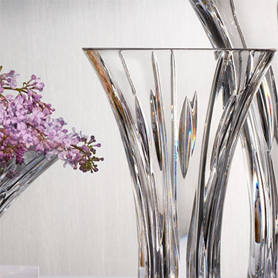 "Marquis By Waterford Sheridan 9"" Flared Vase"