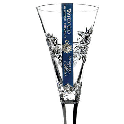 Waterford Snowflake Wishes Friendship Flute, 2017