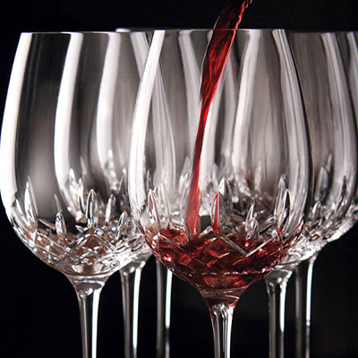 Waterford Lismore Essence Red Wine Goblets, Boxed Set 5+1 Free