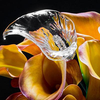 Waterford Crystal Fleurology Calla Lily Flower