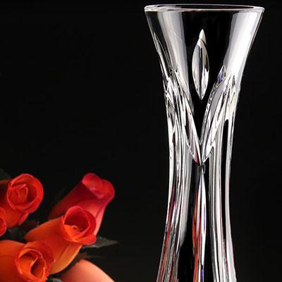 Cashs Crystal Annestown Single Stem Rose Bud Vase