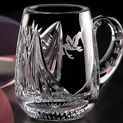 Cashs Crystal Baby Christening Cup