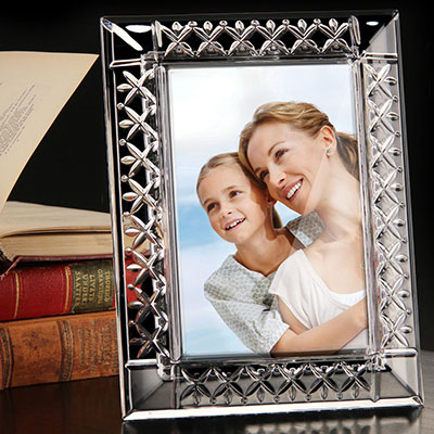 """Cashs Crystal 4 x 6"""" Annestown Picture Frame"""