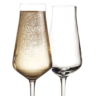 Chateau Baccarat Champagne Flute, Pair