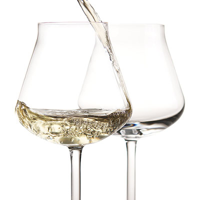 Chateau Baccarat White Wine, Boxed Pair