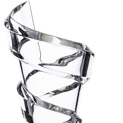 """Baccarat Spirale 10"""" Vase"""