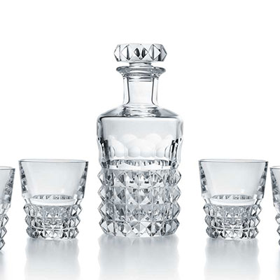 Baccarat Louxor Whiskey Bar Glasses Set, Limited Edition of 2,000