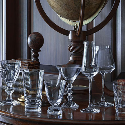 Baccarat Cocktail In A Box Boxed Set Of Eight Crystal Glasses, Classic