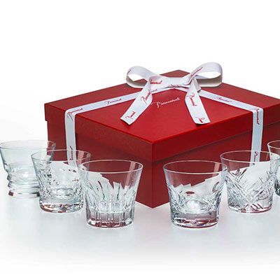 Baccarat Everday Baccarat Classic Assorted DOF Tumblers, Set of 6