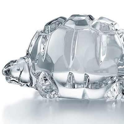 Baccarat Heritage Turtle Zoe, Clear