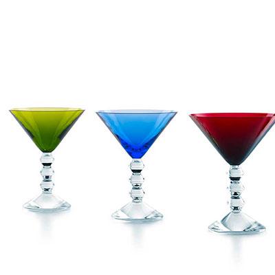 Baccarat Vega Martini Glass, Set of 4
