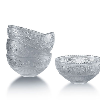 Baccarat Arabesque Small Bowls, Set of 6